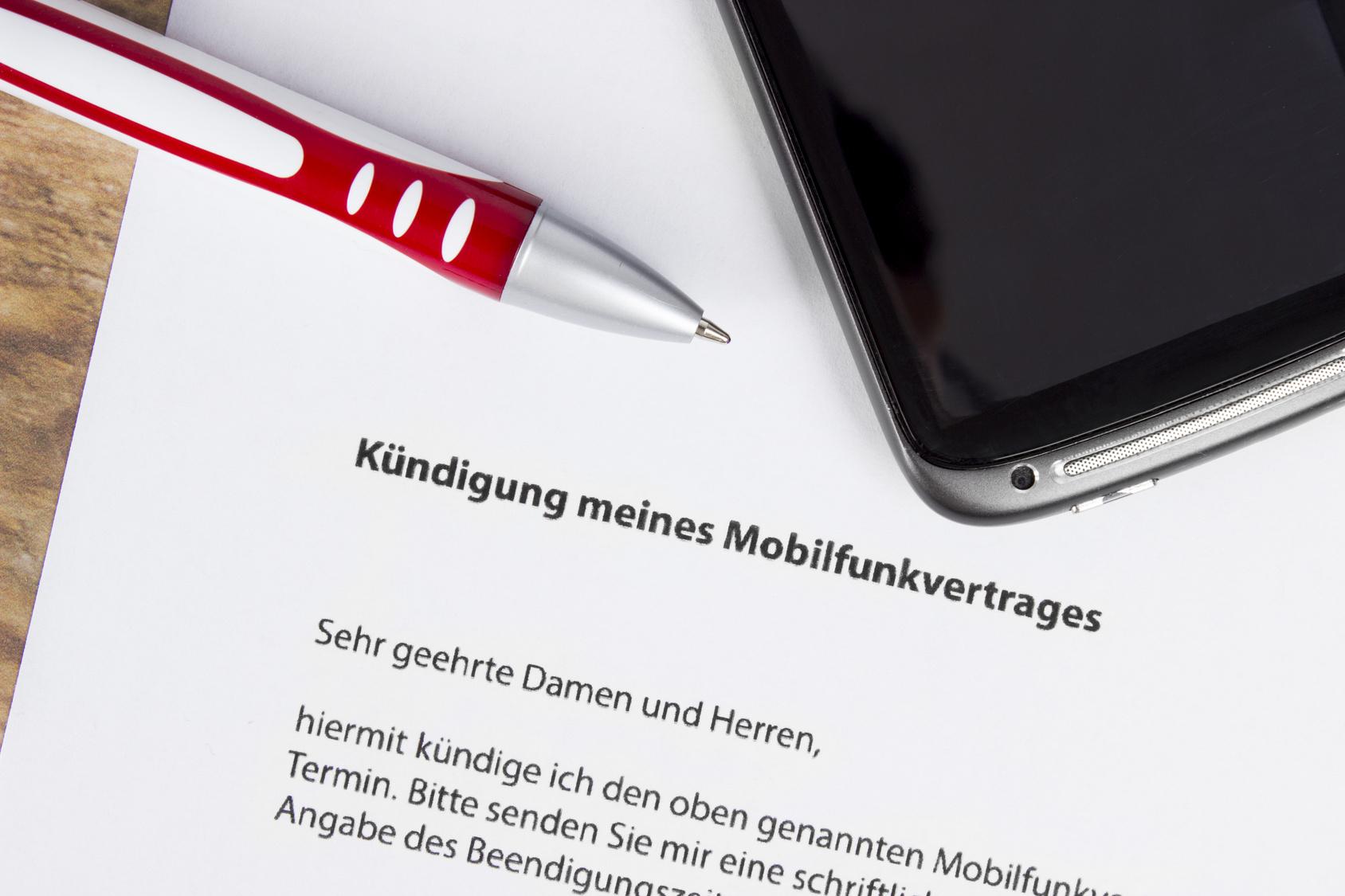 Vodafone Kündigung