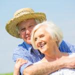 Zwei Senioren als Sinnbild für das Berliner Testament