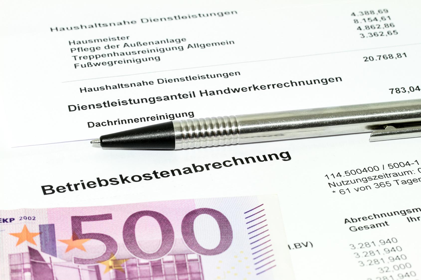 nebenkostenabrechnung muster - Nebenkostenabrechnung Muster