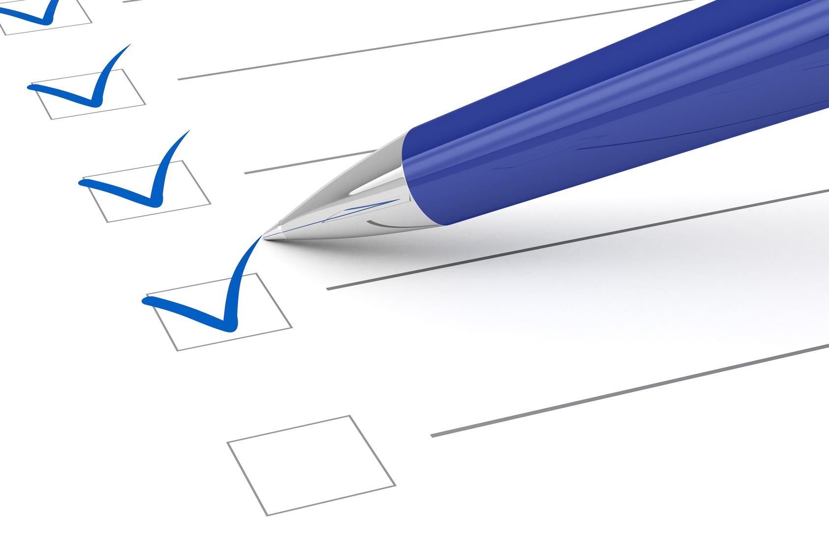 Wohnungsübergabe Checkliste